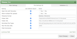 Customize uploaded filename format