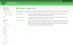 System Check module